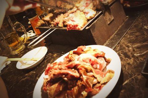 終演後の食事