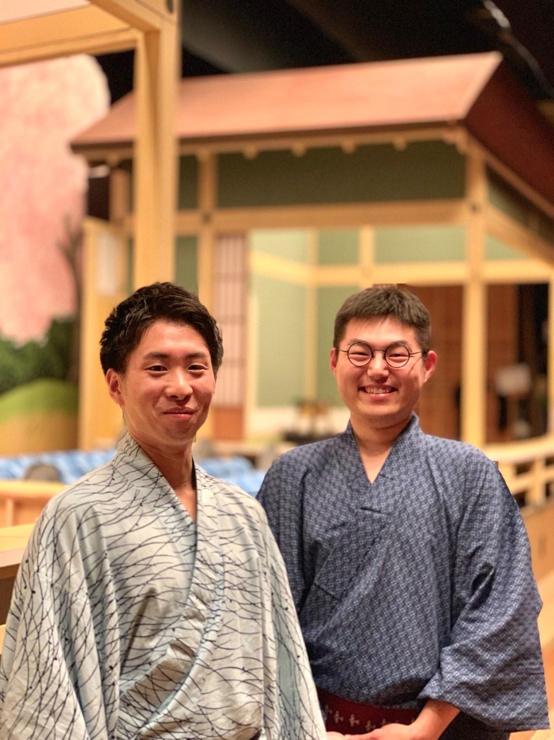 竹本碩太夫・鶴澤燕二郎