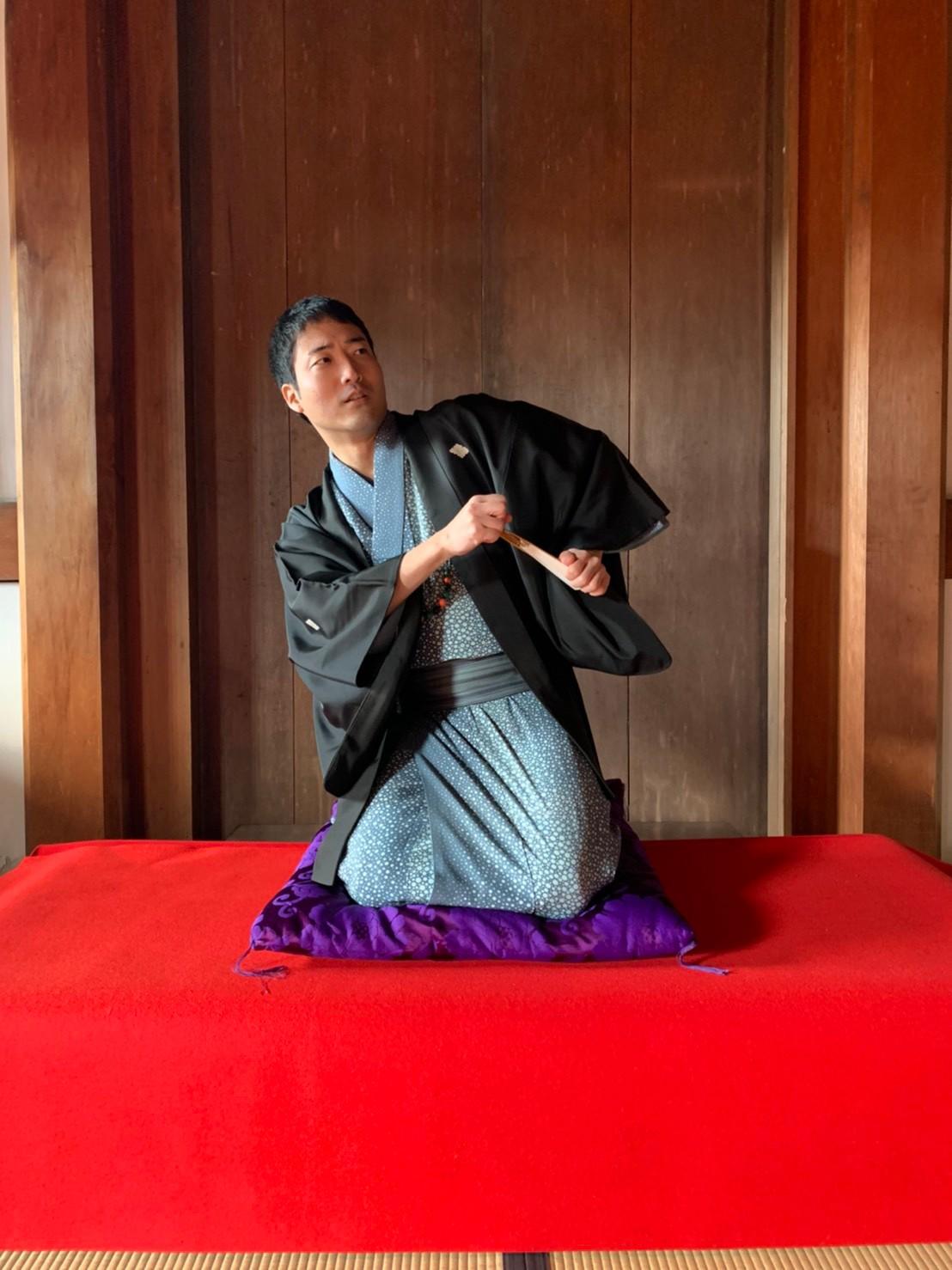 20201220伝統芸能で旅する京都 落語 三十石 桂紋四郎
