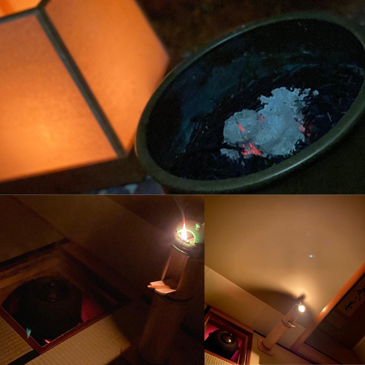 コロナ下の夜咄の茶事