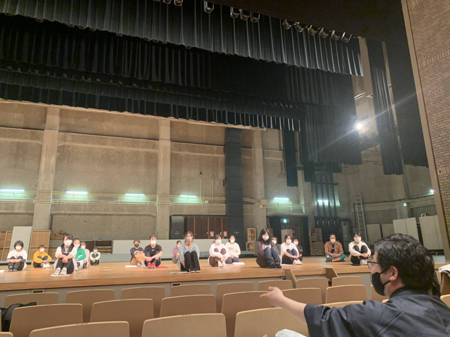 ファミリーミュージカル「ひとくさりの大会」所作指導
